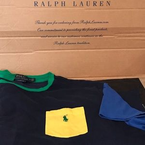 Polo Ralph Lauren Colorblock T-Shirt Size XL